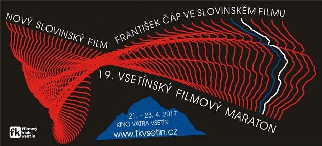 Banner přehlídky Vsetínský filmový maraton 2017