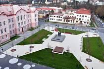 Náměstí Svobody ve Vsetíně po druhé rekonstrukci