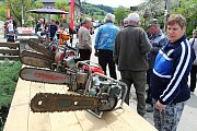 Na soutěž Prlovský drvař se v sobotu 11. května sjelo 32 soutěžících a stovky návštěvníků. Lákala výstava starých motorových pil.