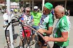 Charitativní cyklotour Na kole dětem projel Vsetínem.