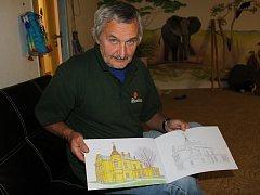 Jindřich Oleš, grafik, kreslíř a ilustrátor z Ostravy, momentálně žijící ve Valašském Meziříčí, si letos připsal na své konto další tvůrčí počin. Připravil omalovánky pro děti, jejichž obsahem jsou branecké pamětihodnosti.