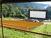 Letní kino na Bystřičce, ilustrační foto.