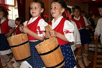 Děti z Hošťálkové.