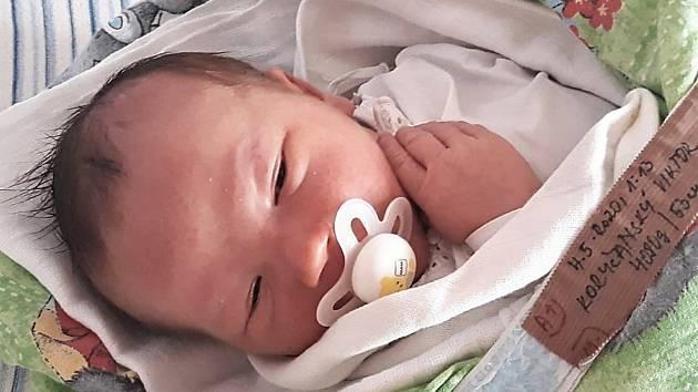 Viktor Koryčanský, Choryně, narozen 4. května ve Valašském Meziříčí, míra 53 cm, váha 4080 g