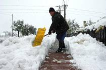 Valašsko zasáhlo silné sněžení. Nejvíce postižené jsou oblasti Velkých Karlovic, Hornobečevsko a Hornolidečsko