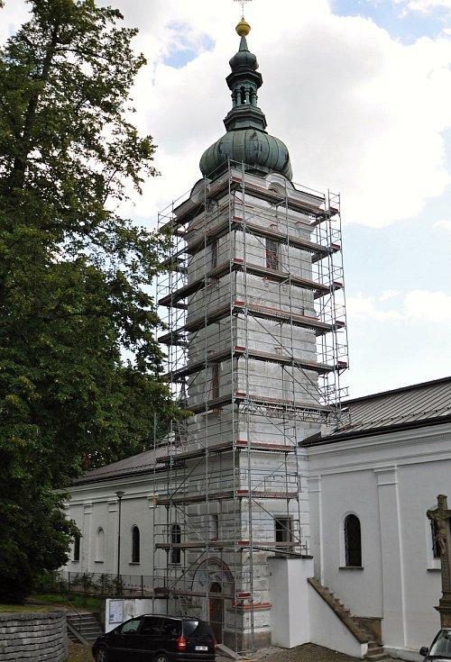 Vsetín - Římskokatolický kostel Nanebevzetí Panny Marie ve Vsetíně.