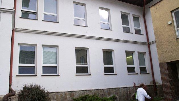 Budova interny vsetínské nemocnice. Ilustrační foto.
