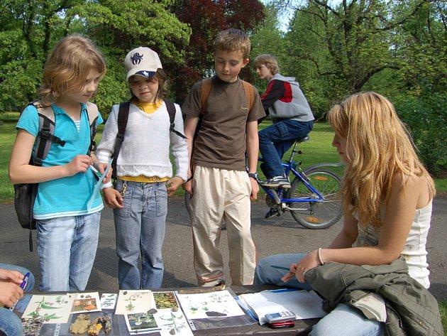 Park u zámku Kinských patří přírodovědcům