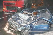 Nehoda ve Valašské Polance