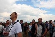 Aviatický den na letišti v Poličné u Valašského Meziříčí; sobota 14. července 2018