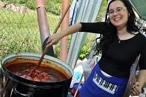 V Ratiboři na Vsetínsku se v sobotu 26. května 2012 uskutečnila soutěž O gulášového krále