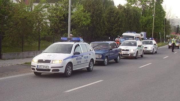 Opilý řidič chtěl ujet z místa nehody