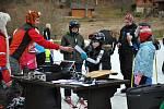 Druhým kolem pokračoval v neděli na sjezdovce Horal ve Velkých Karlovicích letošní ročník seriálu závodů O pohár nejrychlejšího tygra.