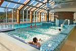 Bazény welness hotelu Horal.