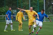 Fotbalisté Velkých Karlovic vyhráli krajský přebor a těší se na divizi.