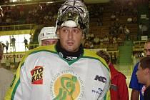 Brankář Roman Čechnánek by měl nastoupit v brance týmu z postupové sezony 1993–1994.