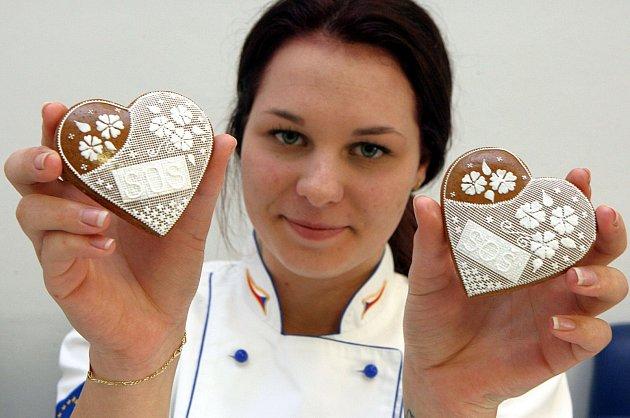 Cukrářky s perníky ze SOŠ J. Sousedíka ve Vsetíně. Ilustrační foto.