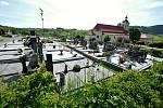 Francova Lhota - hřbitov a kostel svatého Štěpána.