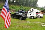 Kemp Ranč Bystřička v Bystřičce na Vsetínsku hostil od pátku do neděle 19. - 21. června 2020 další ročník Srazu majitelů amerických vozidel - US Cars.