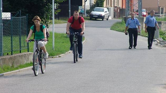 Cyklisté v Meziříčí už brzy vyrazí na novou cyklostezku.