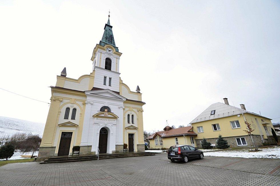 Kostel a farní úřad Českobratrské církve evangelické v Liptále.