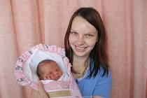 Veronika Opletalová, Valašské Meziříčí, 3,35 kg, nar: 28. 10. 2011 v nemocnici v Meziříčí