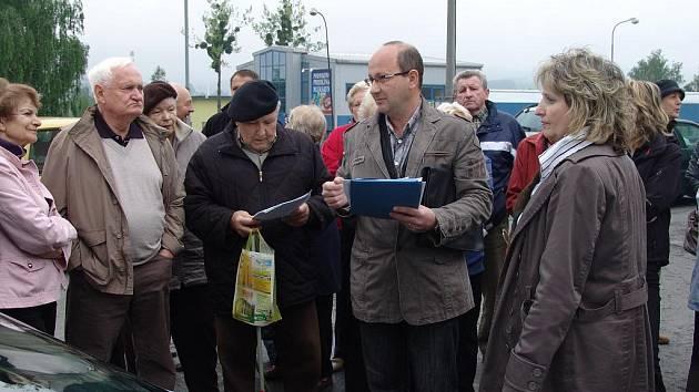 Lidé z Valašského Meziříčí nechtějí ve svém bydlišti bourárnu masa.