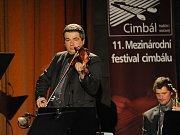 11. mezinárodní festival cimbálu ve Valašském Meziříčí. Daniel Ciobanu z Moldavie.