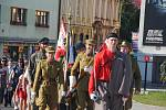 Pietními akty si obyvatelé Valašského Meziříčí v úterý připomněli 102. výročí bitvy u Zborova