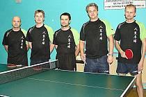 Stolní tenisté KST Vsetín. Ilustrační foto.
