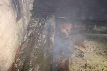 Hovězí - následky požáru