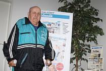 Alois Jurečka – vítěz letošního ročníku Tipligy Valašského deníku.