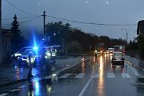Přechod v Jablůnce, na kterém v úterý 4. října 2016 ráno srazil devětačtyřicetiletý řidič ze Vsetína sedmadvacetiletou ženu.
