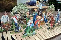 Město Rožnov pod Radhoštěm v rámci mikroprojektu Tradice bez hranic představí v pátek 28. listopadu 2014 Betlém karpatského lidu, který znázorňuje rozličné postavy z lidového života moravsko-slovenského pomezí.
