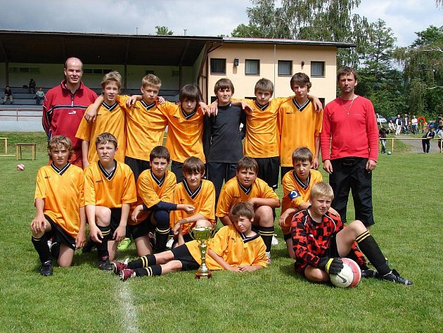 V Dolní Bečvě se v sobotu utkala čtyři nejlepší družstva mladších žáků.