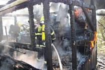 Pět včelstev a včelín, včetně vnitřního vybavení zničil v úterý téměř v pravé poledne oheň v Zubří. Škoda je odhadována na přibližně 30 tisíc korun.