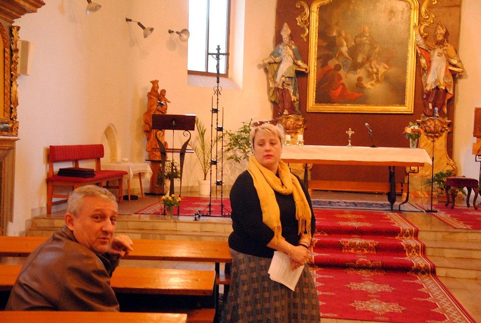 Noc kostelů v kostele Sv. Jakuba ve valašskomeziříčské místní části Krásno nad Bečvou