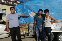 Další pozdrav z expedice ke středoasijskému Aralskému jezeru poslali její členové z kazašského města Aral.