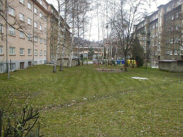Plánovaná stavba parkoviště