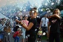 Areál Rybníček v Huslenkách hostil v sobotu 4. září 2021 tradiční Huslenské slavnosti.