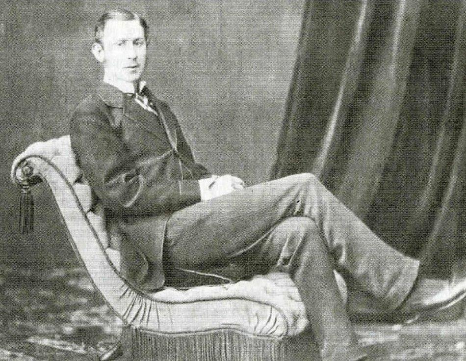 Hrabě Rudolf Kinský.