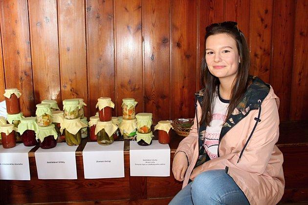 Anna Žárská ví jistě, že se chce vživotě věnovat zemědělství.