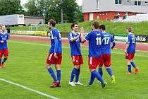 Valašský fotbal má třetí ligu. Fotbalisté Valašského Meziříčí porazili v neděli 21. května tým z Jeseníku a postoupili do třetí nejvyšší soutěže.