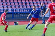 Ve velmi dobré formě hraje na podzim vdresu divizních fotbalistů Valašského Meziříčí talentovaný křídelník Jonáš Vrána