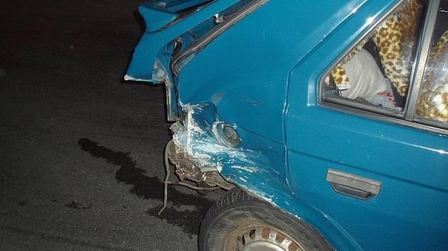 Opilý řidič boural