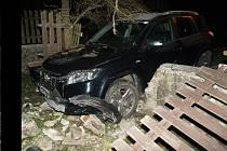 Dopravní nehoda v Rožnově pod Radhoštěm.