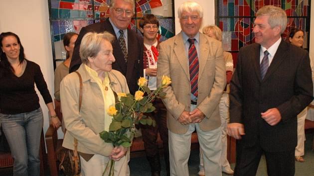 Mezi čestné hosty patřila i Dana Zátopková