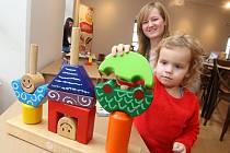 Výstava Chytrá hračka aneb škola hrou v muzejním a galerijním centru ve Valašském Meziříčí.