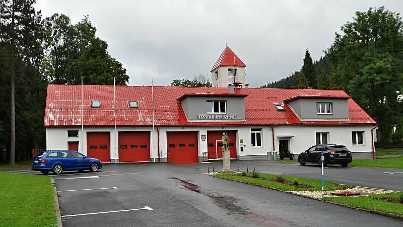 Halenkov - areál halenkovských hasičů.