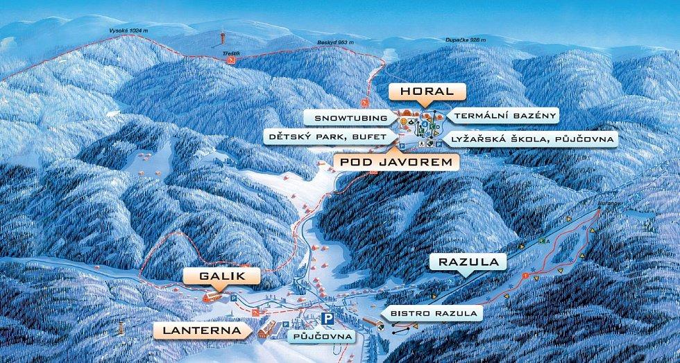 Mapa Razula